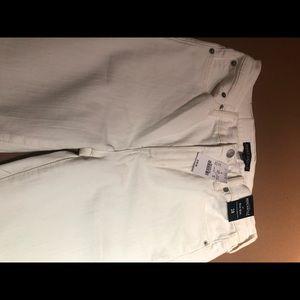 NWT J Crew White Jeans